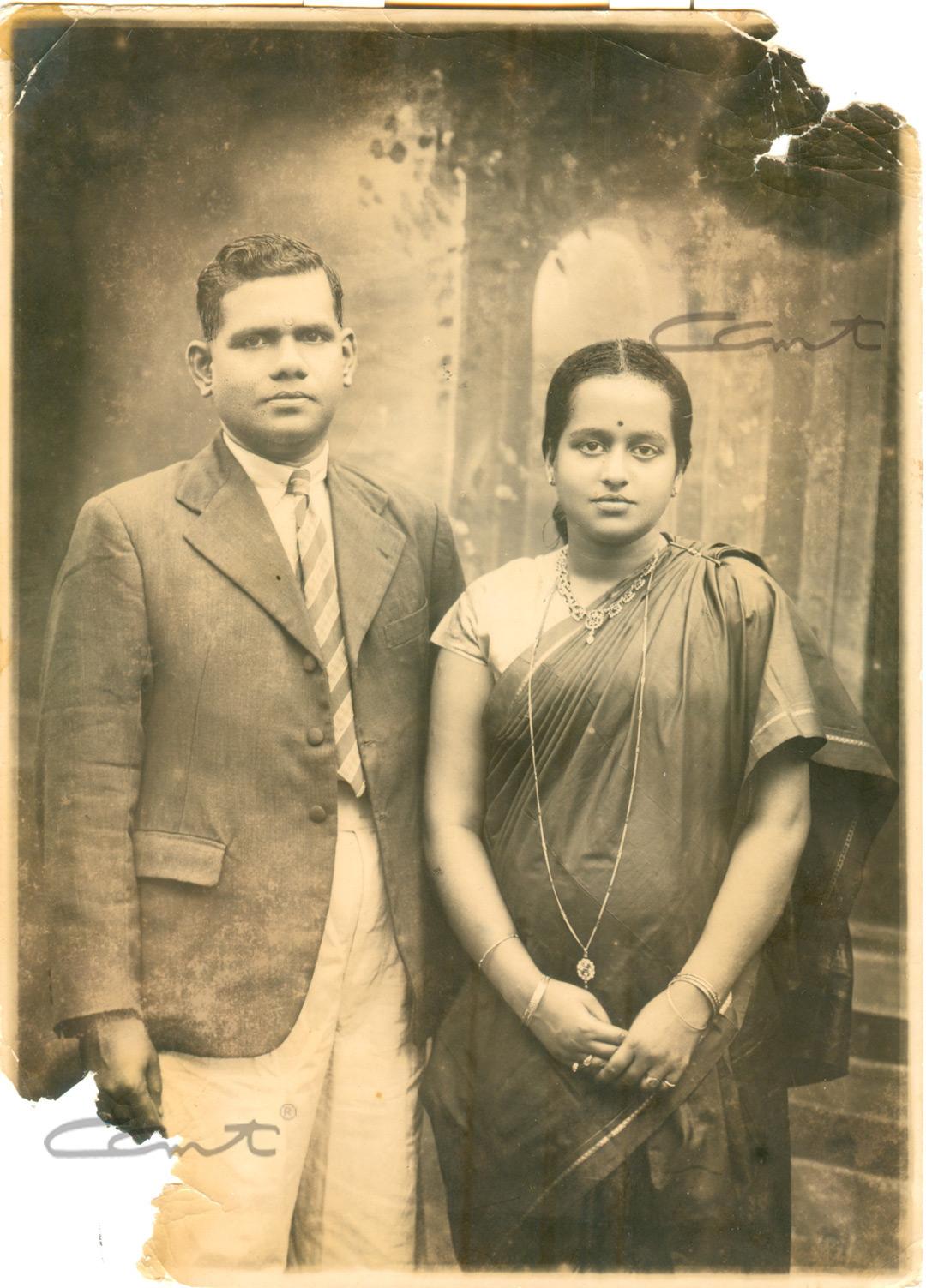 Padmini and Madhava Menon