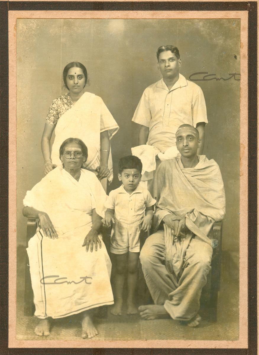 Chinmaya and Bhaskara Menon