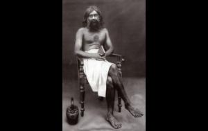 Swami Tyageeshananda, headmaster of Vivekodayam Boys' High School
