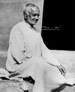 Swami Tapovanam sitting